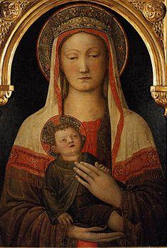 Vierge à l'Enfant, 1450, Jacopo Bellini Florence