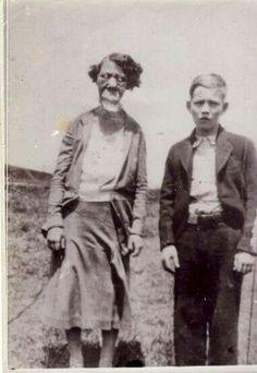 A walking dead moment circa 1885