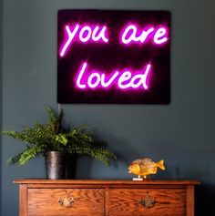 You are Loved LED Neon light