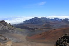 Although this is an extinct volcano, the summit of Mt Haleakala on the Island of Maui offers some of the most spectacular views at 9740 feet above sea level - 2012  by Chris Davies