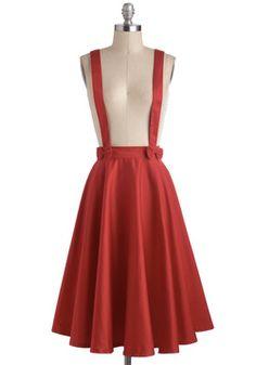 Pretty Partner Skirt, #ModCloth    I just love this sooooo much. Maybe for Kara's bridal shower