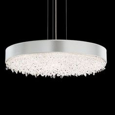 Schonbek Eclyptix 12 Light Drum Pendant