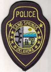 Sano Springs Police Patch (OK)