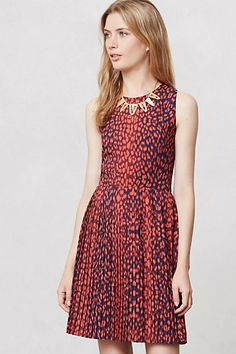 Spotted Nessa Dress Anthropologie