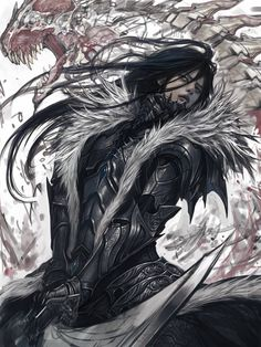 Artist: Jung Myung Lee aka rupid79 - Title: Unknown (sketch) - Card: Bradley, Quiet Swordsman (Focused) | Adorjan | Pinterest