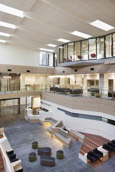 Ballarat Regional Integrated Cancer Centre, VIC designed by Billard Leece Partnership and Tonya Hinde Interior Design