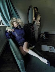 visual optimism; fashion editorials, shows, campaigns & more!: women of style: kate moss by tim walker for vogue italia september 2015