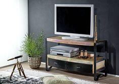 INDUSTRIAL TV-Board #40, Eisen u. Altholz Jetzt bestellen unter: https://moebel.ladendirekt.de/wohnzimmer/tv-hifi-moebel/tv-lowboards/?uid=6040cbdf-1830-5bf9-9bb8-5ecb7629dbf8&utm_source=pinterest&utm_medium=pin&utm_campaign=boards #tvlowboards #wohnzimmer #tvhifimoebel