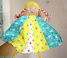 Fabric Baby Toy / Soft toy for baby / Cloth by FruityCocoIsland, $16.00