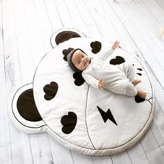 Wretched Rabbit Geometry Bear Baby Playmat – QCLOUTH