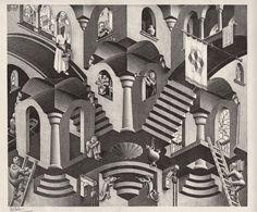 M.C. Escher ile ilgili görsel sonucu