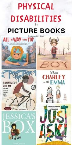 Children's Books with Characters Who Have Physical Differences / Disabilities Best Children Books, Childrens Books, Reading Pictures, Books To Read, My Books, Preschool Books, Preschool Behavior, Kids Reading, Reading Lists