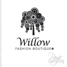 Logo for Willow Fashion Boutique Rotorua, New Zealand
