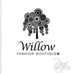 Logo for Willow Fashion Boutique Rotorua, New Zealand