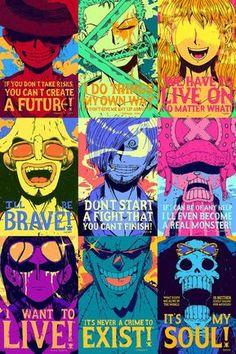 One Piece Strong World Manga Poster