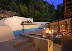 La piscina que tiene el actor de Dexter en su casa