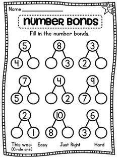 Domino Number Bond Math Activity- Engage New York