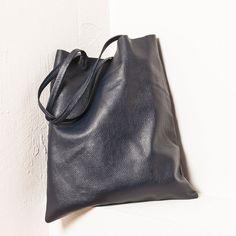 Leather Shopper