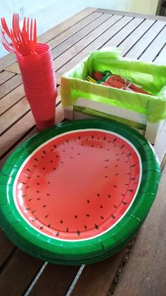 Πάρτι με θέμα το καρπούζι 🍉 (watermelon party)
