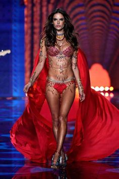 Alessandra Ambrosio | Here Are The Craziest Outfits From The Victoria's Secret Fashion Show #VSFashionShow