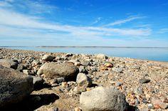 Rocky shore at Lake Diefenbaker Big Lake, Rocky Shore, Sunset Beach, Scenery, Water, Fun, Outdoor, Beautiful, Gripe Water