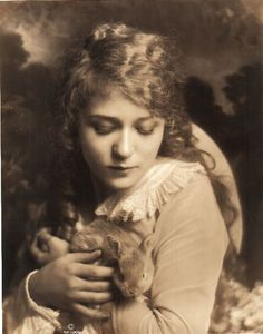 Mary Pickford, a brilliant actress, producer-and terrifically photogenic.