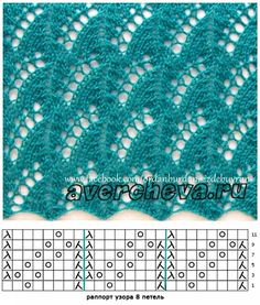 Fans of lace knitting Lace Knitting Stitches, Lace Knitting Patterns, Knitting Charts, Lace Patterns, Baby Knitting, Stitch Patterns, Knitting Socks, Free Knitting, Le Point
