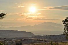 Golden sunrise over Camposol