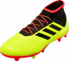 adidas Predator 18.2 FG – Solar Yellow Black Solar Red dcc5757965825