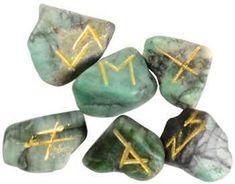 Emerald rune set