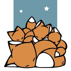 Sleeping_Foxes_icon.jpg (1000×1000)