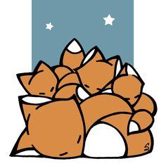 Sleeping_Foxes_icon.jpg (1000×1000)