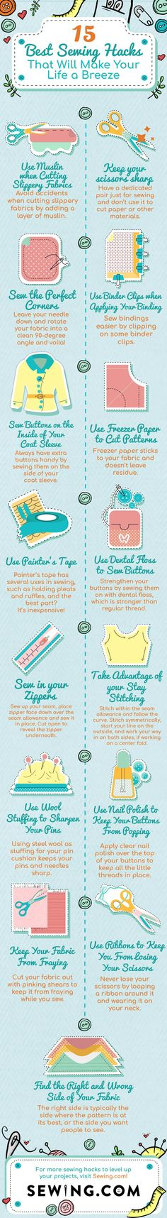 Genius Sewing Hacks to Make Your Life Easier | Best Sewing Hacks That Will Make Your Life a Breeze