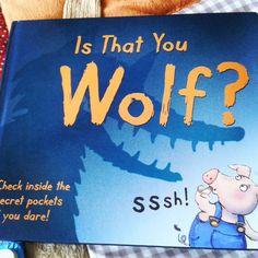 Bruno-Zosia: Bajki o wilku.Is that you wolf?