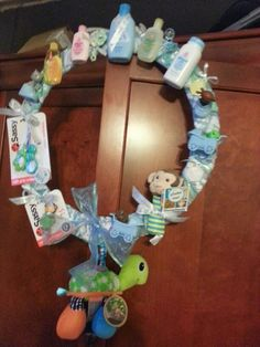 Baby wreath for shower...