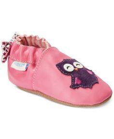 Robeez Baby Girls' Owlivia Shoes
