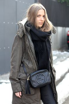 The Items I have Invested in (over time) and are Completely Worth It. (The Fashion Lift) Gucci Disco Bag, Gucci Soho Bag, Soho Disco Bag, Gucci Soho Disco, The Fashion Lift, Best Designer Bags, Designer Handbags, Parka Style, Winter Parka