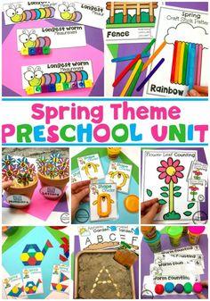219 Best Spring Preschool Theme images in 2019 | Preschool