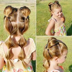 Ennek a kislánynak a frizuráját még felnőtt modellek is megirigyelhetnék! És mindezért köszönet illeti a papát! - Bidista.com - A TippLista!