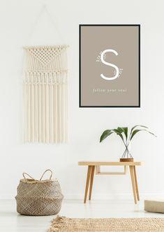 FOLLOW YOUR SOUL - JULISTE | KOHTEESSA.  #quotes #quoteposter #quoteposters #posterdesign #homedecorating #homedecor #homedetails #interiordesign #decorideas #homeideas #scandinavianposter #scandinavianhome #ecofriendly #webshop #julisteet #kodinsisustus #sisustaminen #sisustus #kotimainen #ekologinen #verkkokauppa Scandinavian Poster, Follow You, Posters, Quotes, Home, Design, Quotations, Ad Home, Poster