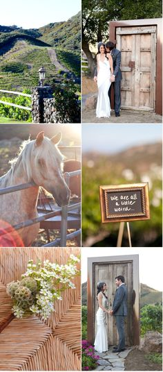 Saddlerock Ranch Wedding by http://www.lindseystaffordphotography.com/ via http://www.StyleMePretty.com/california-weddings/2012/04/20/saddlerock-ranch-wedding-by-lindsey-stafford-photography 4/20/12 To see the full feature, click on the SMP link ;)