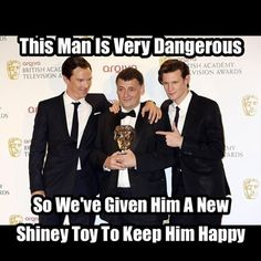 This Should Help Save A Few Characters' Lives<<<Ben's face AND YES>>> Maybe we'll be allowed to keep Sherlock for a couple season. ;)