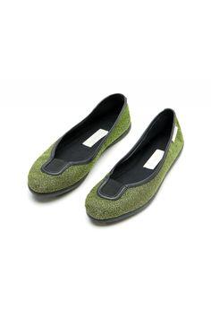 L'Autre Chose lurex ballerinas. #lautrechose #ss15 #spring #ballerinas #shoes #trend