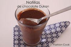Fashion Cook: Natillas de chocolate Dukan Cocina Light, Dukan Diet, Sin Gluten, Gluten Free, Deli, Love Food, Mousse, Recipies, Food And Drink