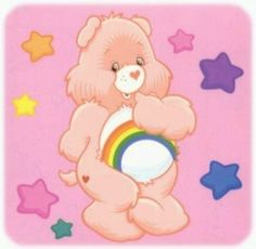 #children #80's #1980's #kids #carebears #toys #vintage The Exact Bear I gave my Daughter. She still has it.