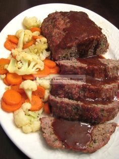 Montreal Meatloaf low carb
