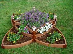 Raised garden bed idea