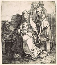 Albrecht Dürer: The Holy Family with Saint John, the Magdalene, and Nicodemus (19.73.51) | Heilbrunn Timeline of Art History | The Metropolitan Museum of Art