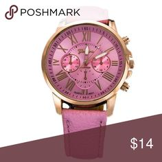 Super Price ‼️Casual Watch New casual and fashion watch. Stainless steel case. Band length: min 6.8inch, max 9 inch. Adjustable. Accessories Watches