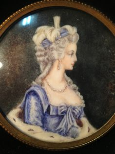 19th century portraits of Marie Antoinette